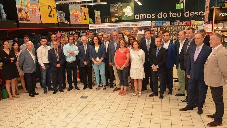 Vegalsa-Eroski exalta los productos gallegos