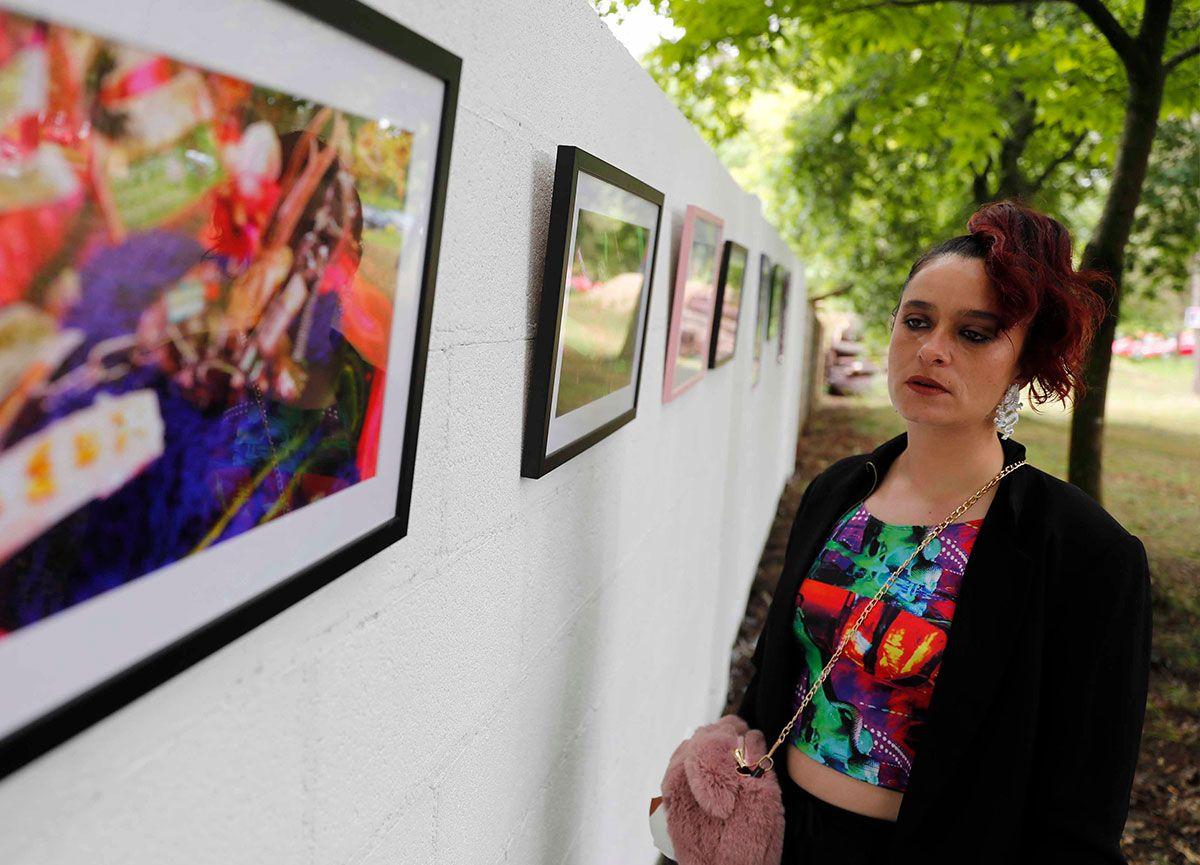 Iria muestra su esxposición fotográfica