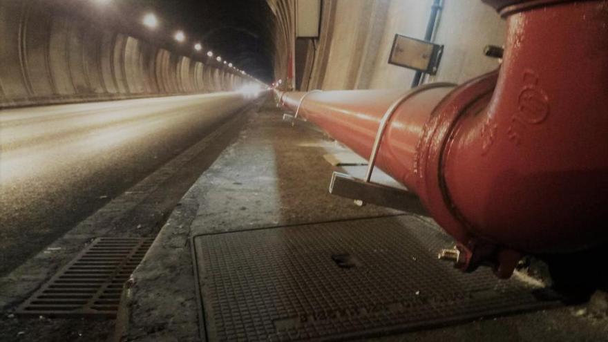 Sóller-Tunnel erneut wegen Bauarbeiten nachts gesperrt