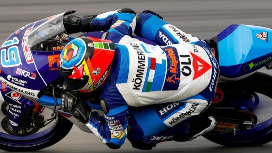 Gabriel Rodrigo se adjudica la 'pole' en Moto3
