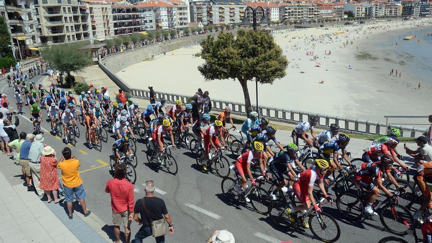 Sanxenxo cifra en más de 500.000 euros el impacto económico de la etapa de la Vuelta