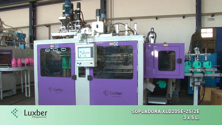 Luxber: Pioneros a nivel nacional en la fabricación de sopladoras de preformas