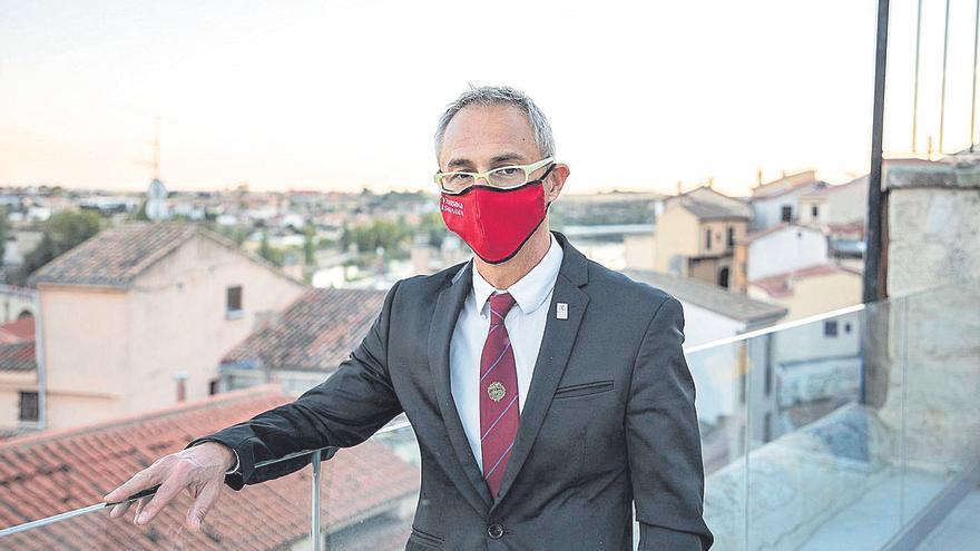 """Ricardo Rivero: """"El Campus Viriato es de los mejores de España por sus instalaciones"""""""