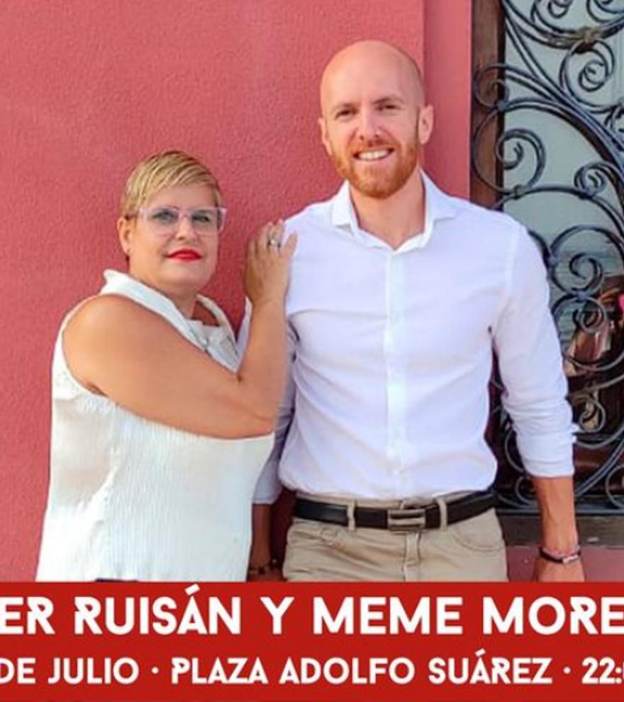 Cultura en la calle: Javier Ruisán y Meme Moreno. A duo