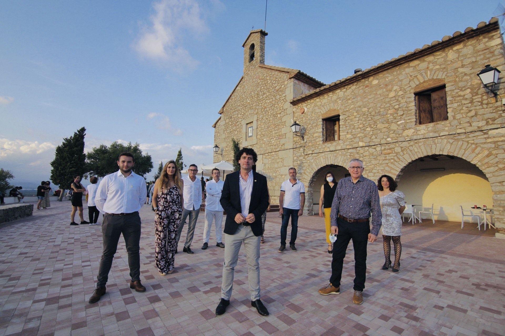 Así ha quedado la Muntanyeta de Sant Antoni de Betxí tras su reforma y su inauguración