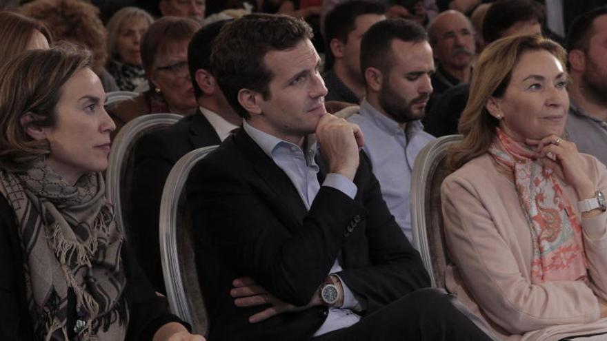 Pablo Casado, en un acto político en Logroño.
