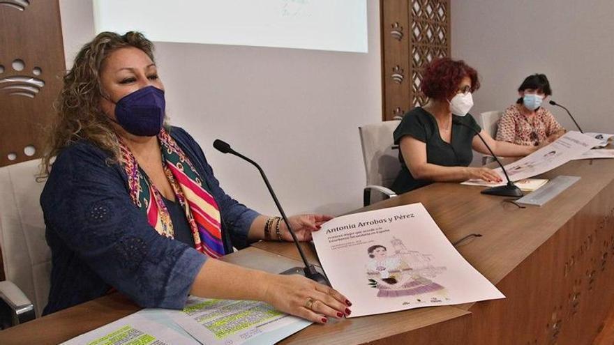 Homenaje a la primera mujer española que se matriculó en Secundaria