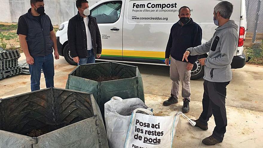 En marcha la nueva recogida de residuos en les Coves de la Font de la Figuera