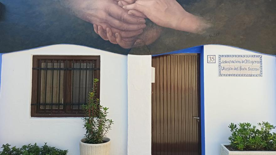 Gelsa reconoce a la mujer rural con un simbólico mural