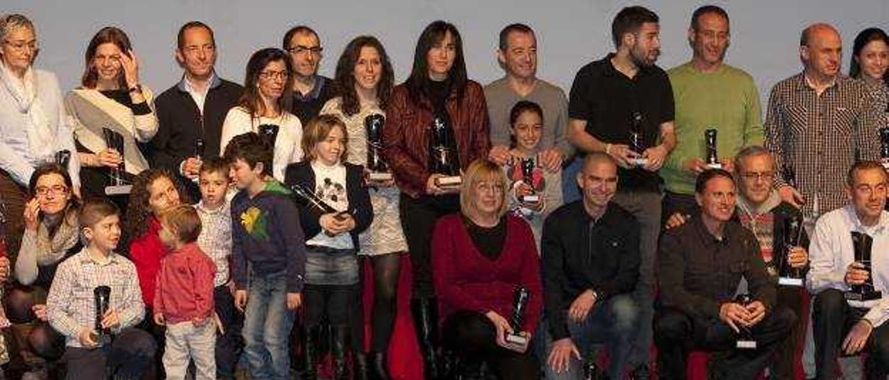 El CCX albergó el viernes la entrega de trofeos de la XI Mitja Marató de Xàtiva