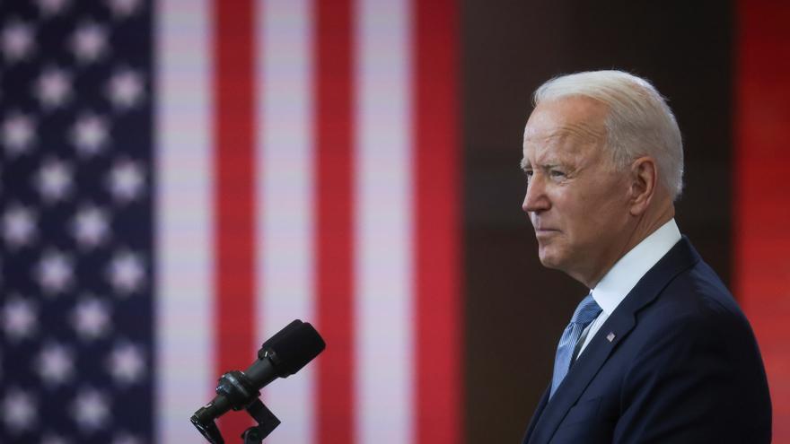 Biden acusa a Trump de boicotear la democracia estadounidense