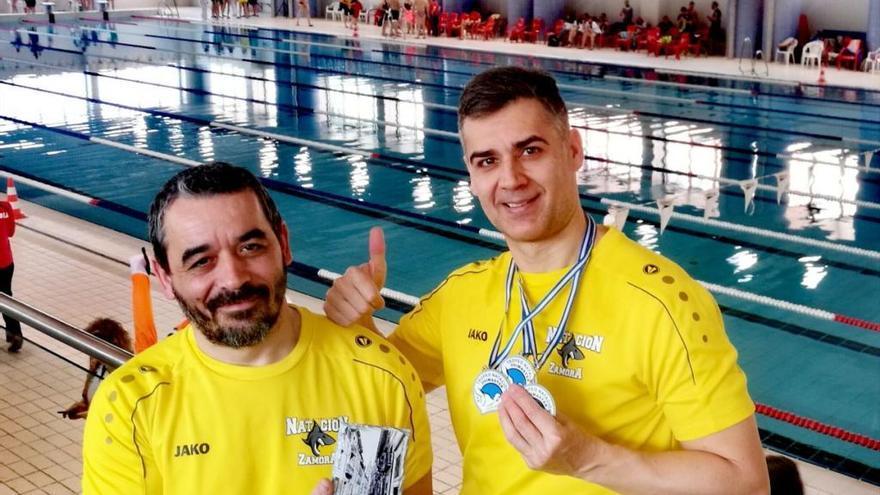 El Natación Zamora regresa con cuatro medallas del Ovimaster 2019
