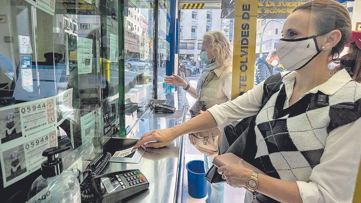 La venta de Lotería de Navidad ha bajado entre un 20 y un 60% en las administraciones.