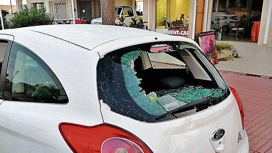 Comerciantes de la Colònia de Sant Jordi denuncian actos vandálicos