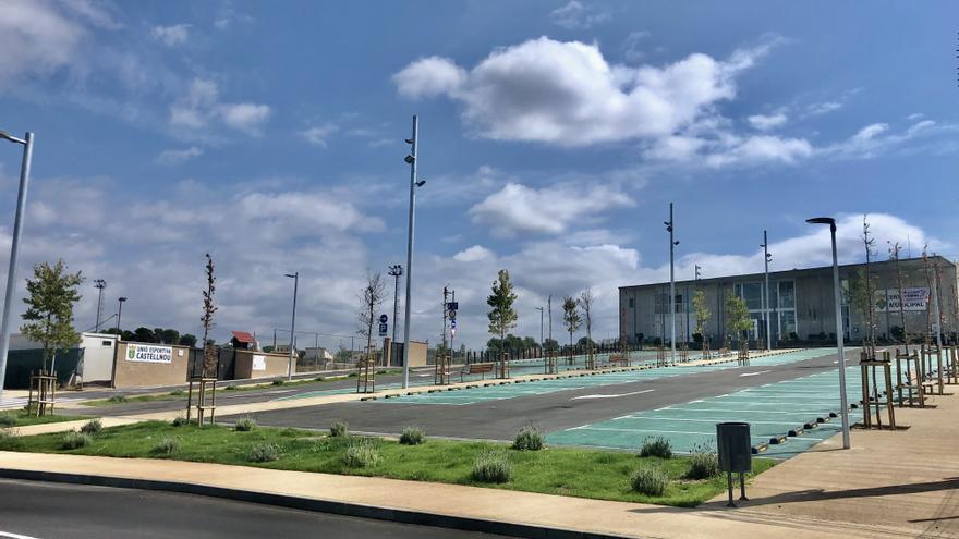 Castellnou estrena dissabte la nova àrea a l'entorn de l'espai d'equipaments del Serrat