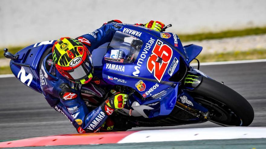 Maverick acaba sisè de MotoGP en el GP de Catalunya
