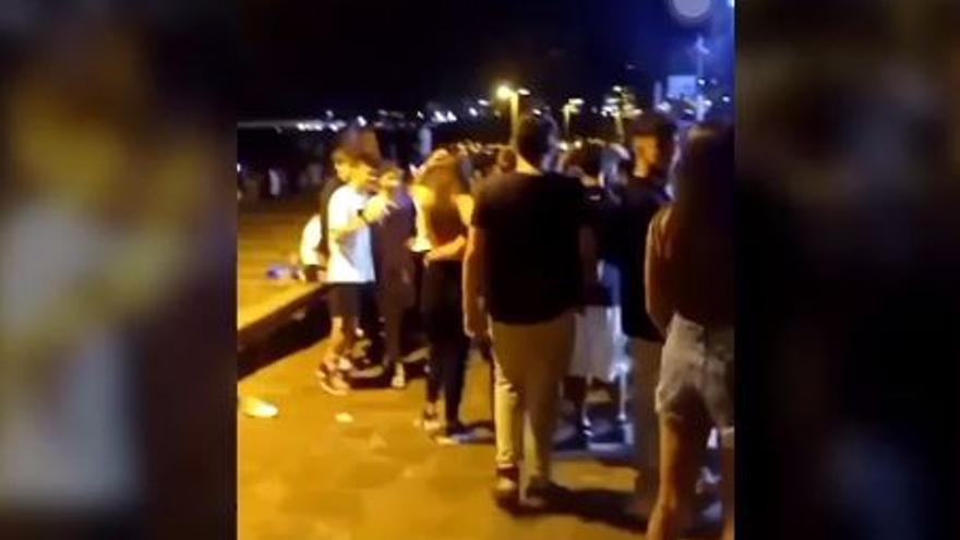 Dos jóvenes detenidos en botellones en el sur de Tenerife