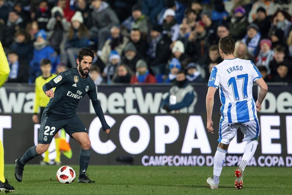 Copa del Rey: Leganés-Real Madrid