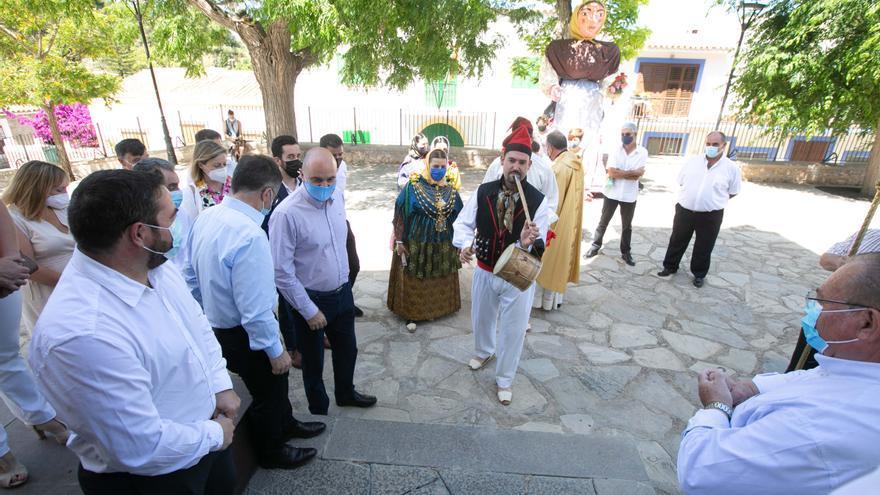 Sant Joan sin baile pero con procesión