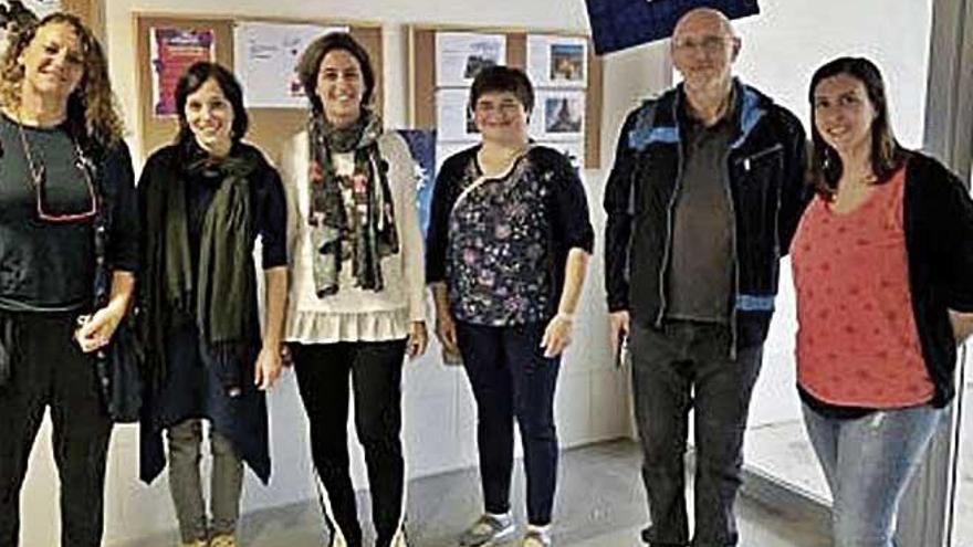 Professors d'Eslovènia visiten l'IES Port d'Alcúdia