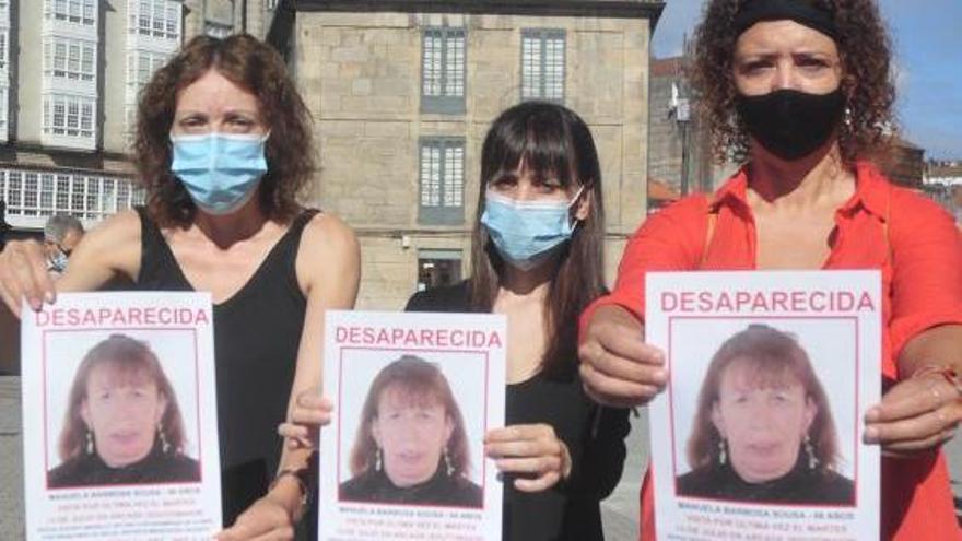 La familia extiende a Pontevedra y Marín la búsqueda de la mujer desaparecida en Arcade