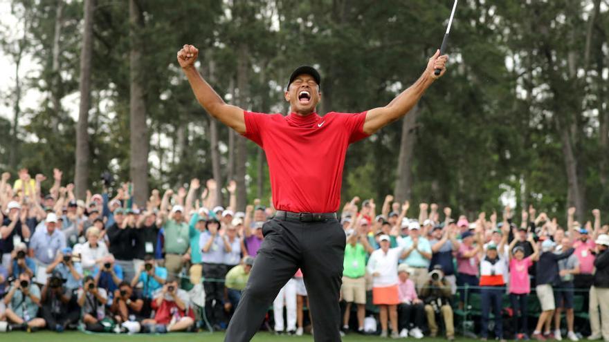 """Tiger Woods se encuentra """"de buen humor"""" en el inicio de su recuperación"""