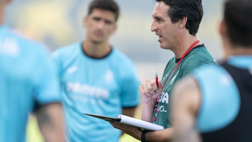 Los múltiples onces de Unai Emery en el Villarreal