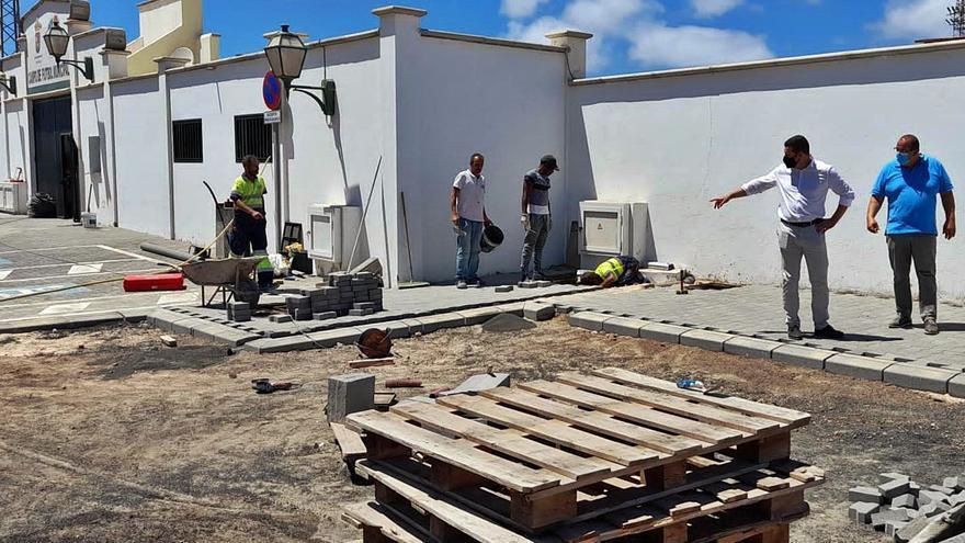 Yaiza invertirá tres millones en el pueblo, Puerto Calero y Playa Blanca