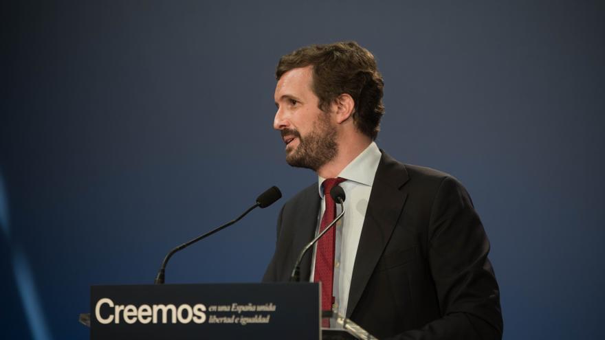 """Casado, tras la detención de Puigdemont: """"Sánchez debe comprometerse a respetar la sentencia"""""""