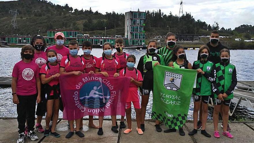 Núñez y Suárez rozan el podio en el Gallego infantil