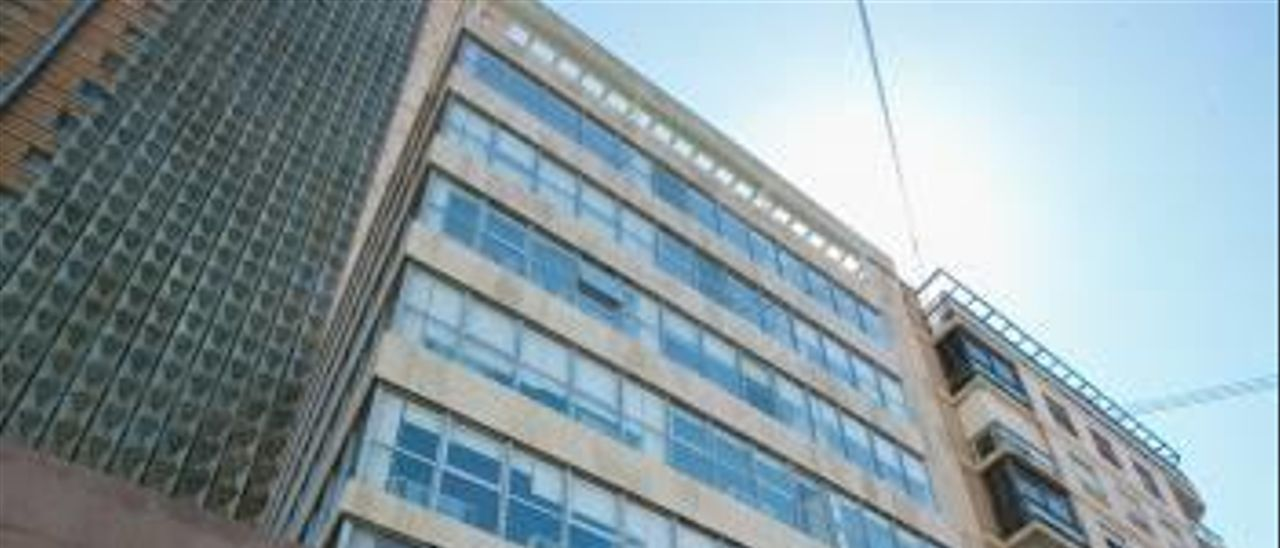 Edificio alquilado a la Fundación CAM y recién reformado para formar universitarios.