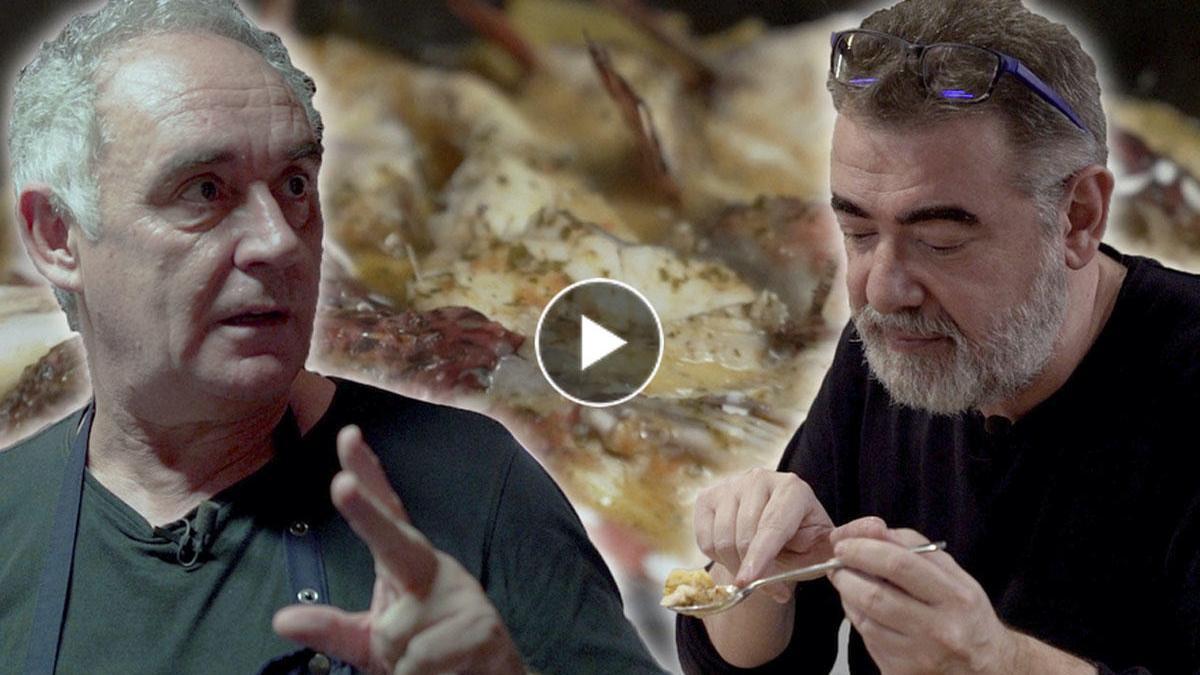 El 'suquet' que Ferran Adrià aprendió cuando empezaba a cocinar.