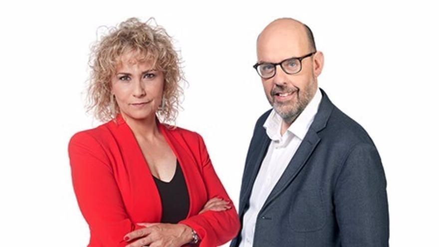 """Mònica Terribas i Jordi Basté, junts a """"Nexes"""" de TV3"""