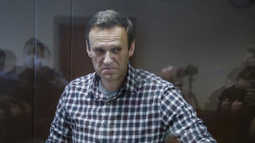 Navalni perdió ocho kilos en la cárcel antes de iniciar su huelga de hambre