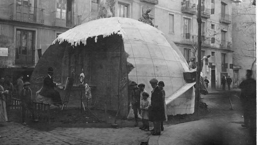 1916 - plaza del pilar.jpg
