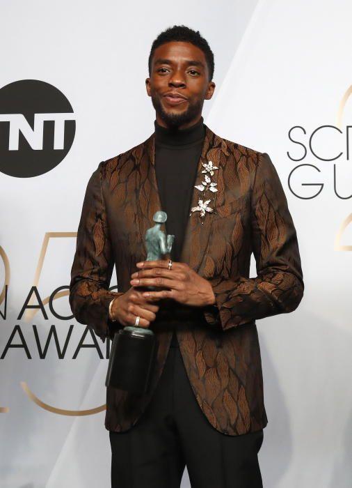 """Premios del Sindicato de Actores: Chadwick Boseman, protagonista de """"Black Panther"""""""