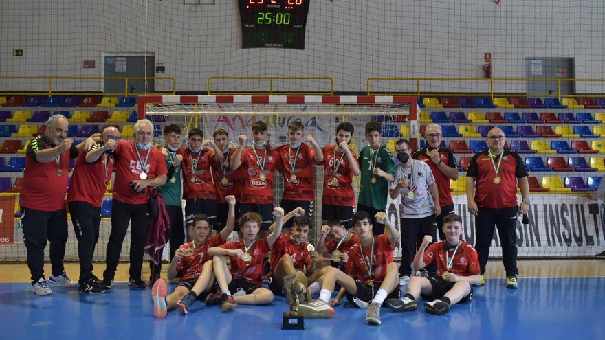 El Cajasur Balonmano infantil se proclama campeón de Andalucía