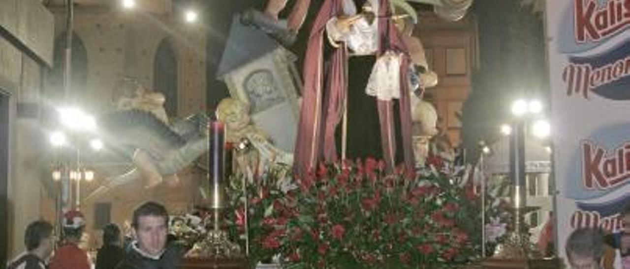 La Semana Santa de Gandia no procesionará los dos días que coincide con las Fallas de 2016