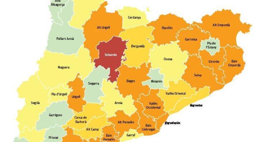 La pandèmia remet, però hi ha risc alt de rebrot al Solsonès