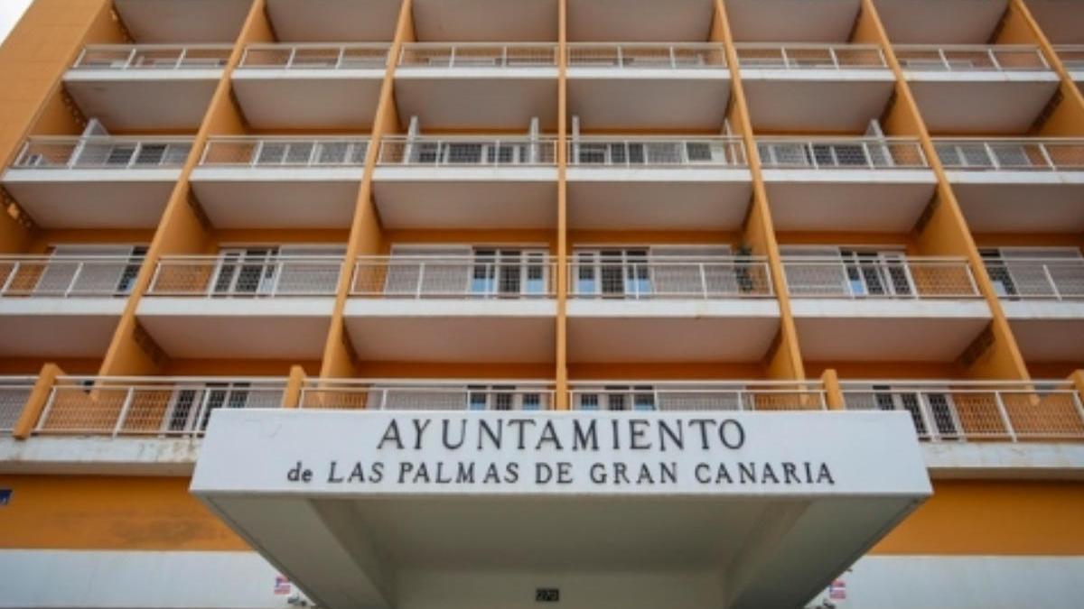 Ocho positivos entre los trabajadores del Ayuntamiento de la capital grancanaria