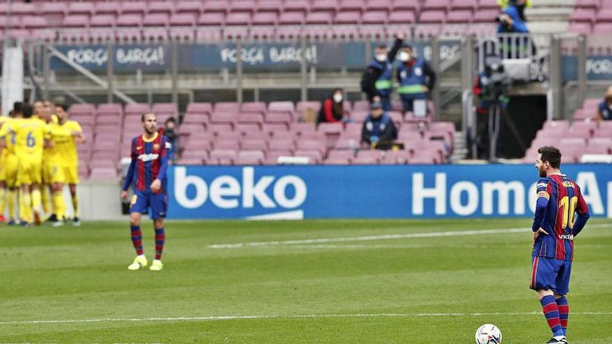 El Cadis també fa pujar els colors a un Barça ineficaç