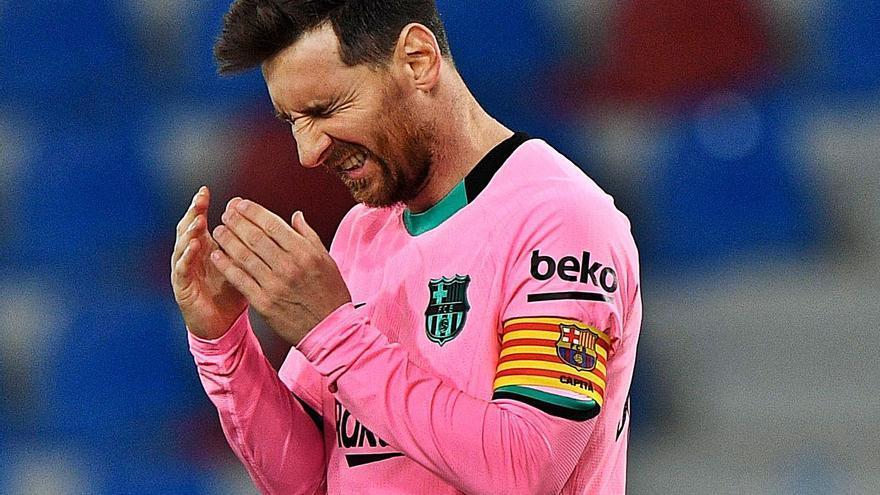 El Barça vuelve a fallar