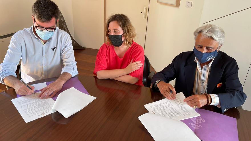 El Ayuntamiento de Palma firma un convenio con el Banco de Alimentos de 25.000 euros anuales