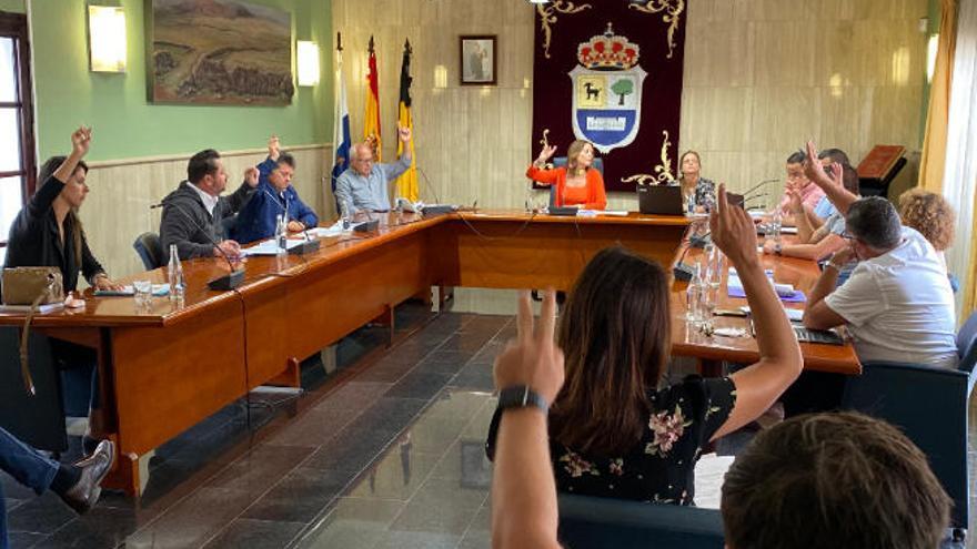 El primer pleno de La Oliva que preside Pilar González destina ayudas a los autónomos
