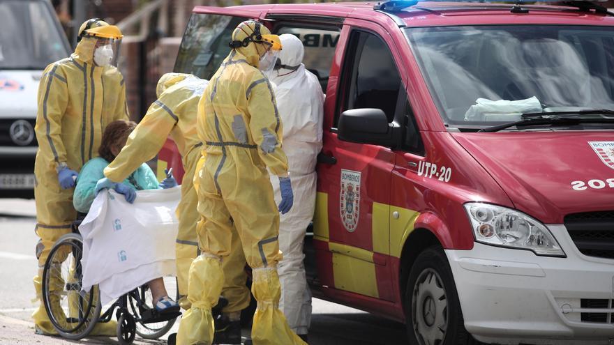 """Trabajadores del Severo Ochoa de Madrid denuncian al hospital por """"homicidio"""" en la gestión de la covid"""