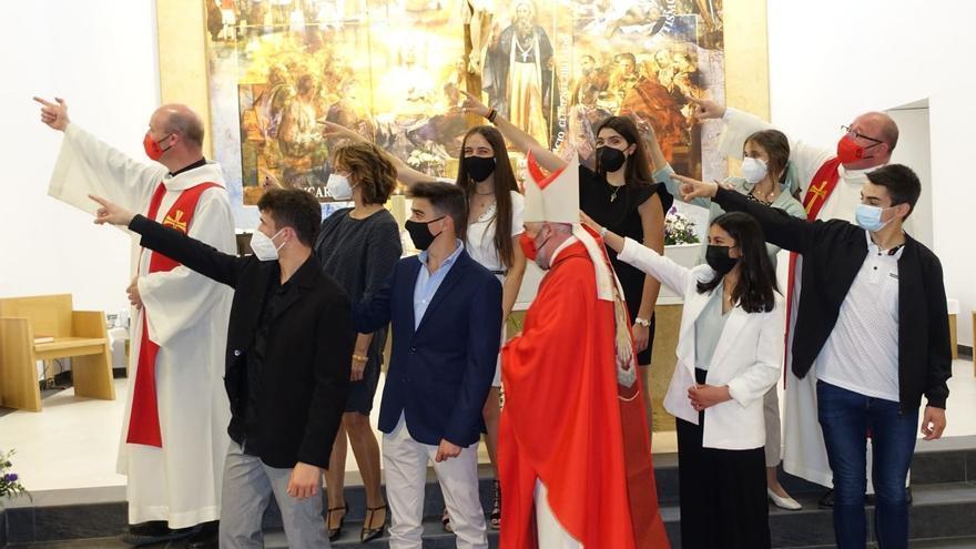 La parroquia de Valdespartera celebra su quinto aniversario