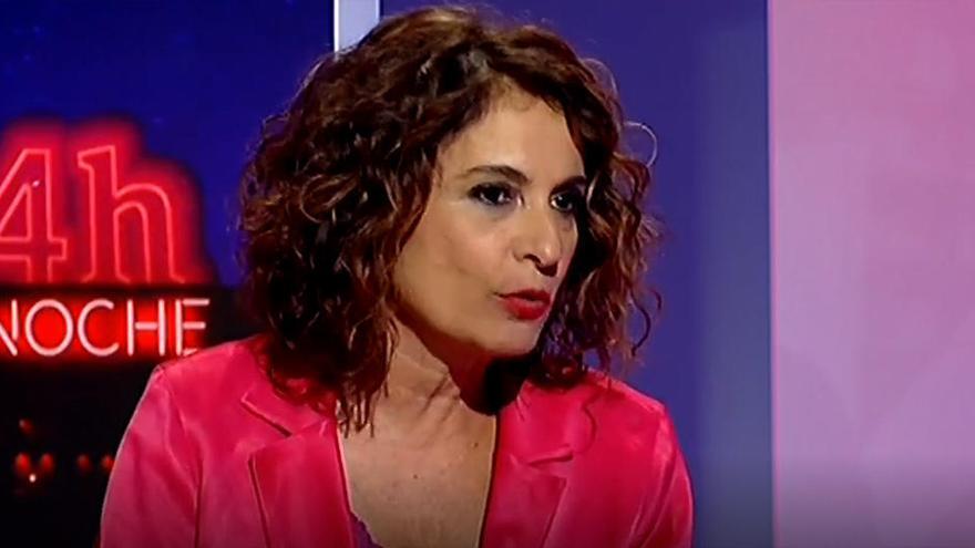 """María Jesús Montero: """"No va a haber ningún tipo de recorte"""""""