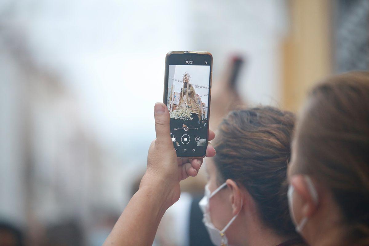 La Virgen de la Estrella, es la primera procesión que sale en Córdoba desde el inicio de la pandemia