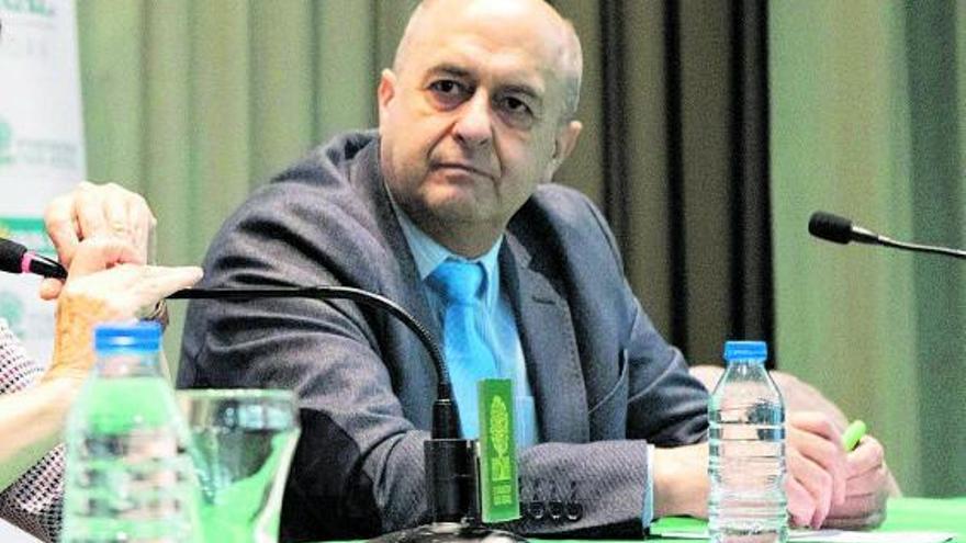 Feliciano Ferrero, secretario de la Fundación Caja Rural de Zamora. | José Luis Fernández