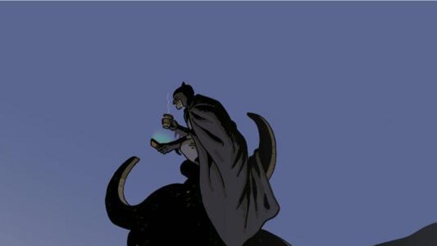 Paco Roca encarama a Batman a los rascacielos de Benidorm